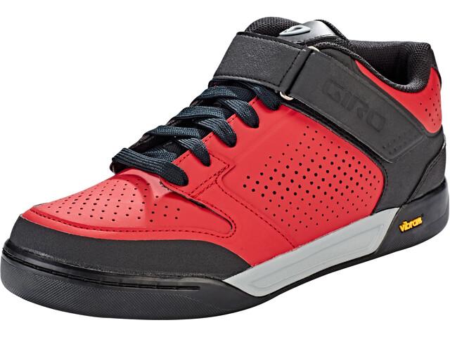 Giro Riddance Mid schoenen Heren rood/zwart